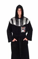 Star Wars Darth Vader Costume Hooded Bath Robe Fleece Licensed Adult Bathrobe