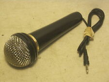 SONY Dynamic microphone mic IMP 300 ohms F-VS3 audio vintage