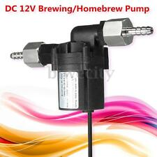 12V DC 1.5A 18W Brewing Pump For Homebrew Beer Wort Mash Circulation Craft New