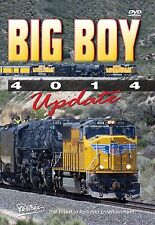 BIG BOY 4014 UPDATE UNION PACIFIC STEAM PENTREX NEW DVD VIDEO