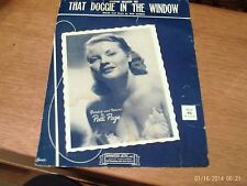 Bob Merrill: How Much is That Doggie in the Window?,  vocal solo (Santly-Joy)
