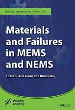 Materials and Failures in Mems and Nems by Atul Tiwari and Baldev Raj (2015,...