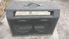 "CARVIN X-100  TUBE AMPLIFIER  2 12"" GUITAR COMBO USA MADE empty Cabinet"