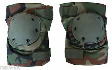 Paintball / Airsoft / Hunting - Night Crawler Tactical Knee Pads Woodland [BE1]