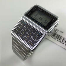 Men's Casio Databank Telememo Calculator Watch DBC611-1