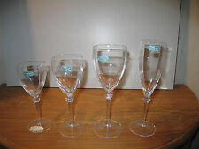 JG DURAND MIKASA *NEW* BASTIA Set 4 Verres Glasses