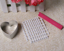 Alphabet Number & Letter Heart Cookie Stamp Cutter Cake Fondant Decorating Tools