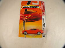 Matchbox Sports cars n°12 Dodge challenger srt8