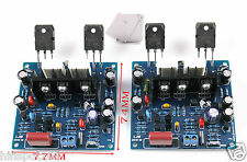 LJM- MX50 100W +100W SE Power amp kit Stero Amplifier kit DIY