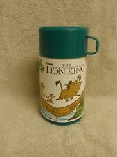 "Aladden Disney ""The Lion King"" Green Lid Thermos"