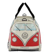 Sport Travel Bag T1 Camper Van Bus Red Volkswagen VW Collection by BRISA BUST01