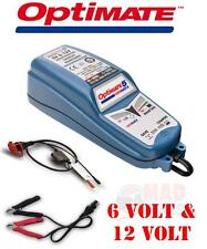 OPTIMATE  6V & 12V INTELLIGENT FULLY AUTOMATIC CLASSIC CAR BATTERY CHARGER