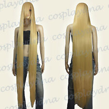 60 inch Hi_Temp Series Beige Blonde Extra Long Cosplay DNA Wigs 81086