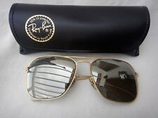VINTAGE RAY BAN CARAVAN GOLD FULL BRONZE  MIRROR LENS 58MM 1970 B&L USSUNGLASSES