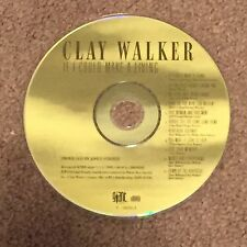 CLAY WALKER If I Could Make A Living (CD, Music, Contemporary Country, Male)