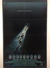 LEVIATHAN (VeryGood+) Movie Poster 1989 One Sheet Sci-Fi Monster 2730