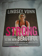 Strong Is the New Beautiful by US Ski Team Lindsey Vonn SIGNED 1st/1st 2016 HCDJ