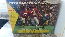Vintage Cadaco Foto-Electric Football Board Game 1972 Pro Football Hall of Fame