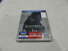 X-MEN: APOCALYPSE BLU-RAY+DVD+DIGITAL HD STEELBOOK EDITION NEW