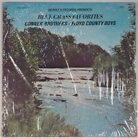 CONNER BROTHERS AND THE FLOYD COUNTY BOYS Harvey's 008 BLUEGRASS FAVORITES lp