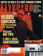 2002 KEYBOARD Magazine Reviews Roland Fathom, Korg EM-1, Ableton Live, Herbie H.