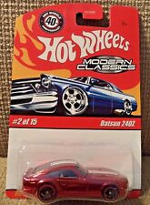 HOT WHEELS MODERN CLASSICS DATSUN 240Z RED 2/15 L8373 *NEW*