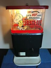 VINTAGE A.B.C. POPCORN CO. THE LITTLE GIANT DISPENSER FRENCH BOY POPCORN MAKER
