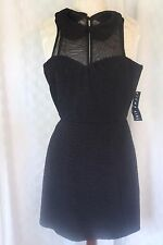 NWT New Jump Girl Knit PERFECT SIMPLE BLACK Sleeveless Dress Junior 3/4  Lot X