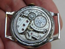 Very early Tudor Oyster Rolex calibre 59 movement working