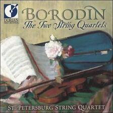 Borodin: The Two String Quartets / St Petersburg String Quartet (Dorian), , Good