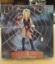 Lita Ford. Out For Blood. Vinyl LP Album. 1983. Polygram. Banned Cover.