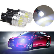 2X T10 5050 5 SMD Bright White Super LED Car Vehicle Side Tail Light Bulb Lamp