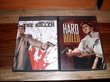 The Killer / HARD BOILED (2 DVD Criterion Collection) VERY RARE OOP!! SPINE 8 9