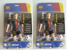 "7"" 2 x 10 LIONEL MESSI ~ Match Stars Football Action Figure 12/13 Season"