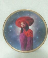 Extremely Rare Hamilton Collection Star Trek Next Generation Guinan Plate Whoopi