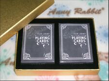 1 set 2 decks Fulton's Clip Joint playing cards by dan and dave with luxury box