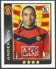 TOPPS 2010 PREMIER LEAGUE - #310-MANCHESTER UNITED & PORTUGAL-ANDERSON