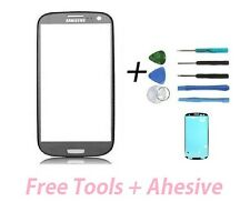Titanium Grey Replacement Front Screen Glass Len for Samsung Galaxy S III i 9300