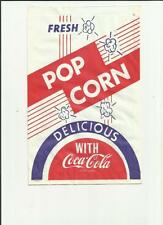 COCA-COLA  POP CORN BAG DELICIOUS WITH COCA-COLA  (D)
