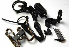 Archery upgrade Bow Sight kit,Arrow rest,Bow Stabiliser bow peep