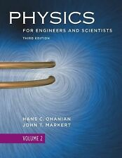 Physics for Engineers and Scientists Vol. 2 by H C Ohanian (2007, Paperback)