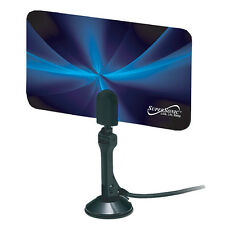 Supersonic FLAT DIGITAL HDTV ANTENNA VHF/UHF/FM For TV Off the Air