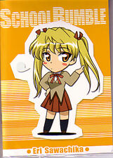 School Rumble Eri Import Small Notebook Note Book Anime NEW
