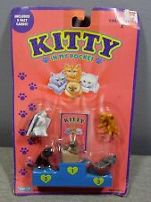 NEW Kitty in my Pocket Collection 1 1994 Hasbro Cat Toy Pet SEALED