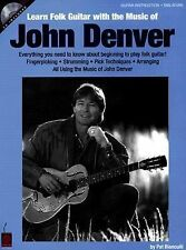 Learn Folk Guitar with the Music of John Denver by Pat Bianculli (2005, CD /...