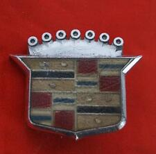 Vintage Metal Cadillac Emblem Crest Badge GM Motors Detroit # 1486972