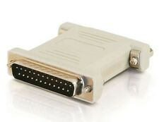 C2G / Cables to Go 02471 DB25 Male/Male Null Modem Adapter (Beige)