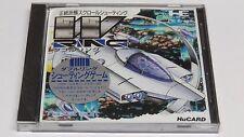 W-Anillo de los anillos de doble PC Engine HuCard Duo-Rx GT LT Japón JPN Nuevo Sellado