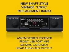 NEW  SHAFT STYLE AM/FM RADIO VOLKSWAGEN VW USB SD/MMC MP3 BEETLE VAN BUS NOS