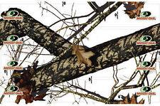 LVE Extreme Arrow Wraps - Mossy Oak Winter 7'' Carbon Arrow Wraps 12 Pack